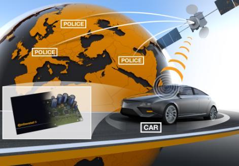 Компания Continental представит новую противоугонную систему