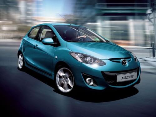 Обновленная Mazda2 будет представлена в Париже