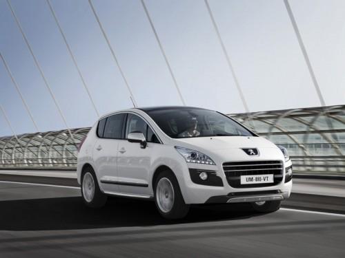 Peugeot опубликовал информацию о первом в мире дизельном гибриде