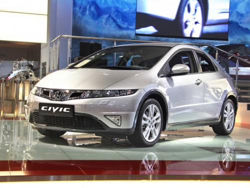 На ММАС Honda привезла обновленный Civic