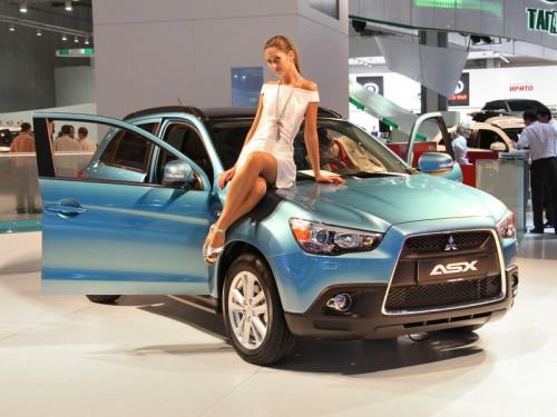 Москвичи увидели гибридный концепт Mitsubishi Px-MiEV и первый в мире серийный электромобиль i-MiEV