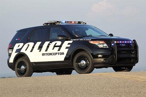 Ford выпустил полицейскую версию нового Explorer