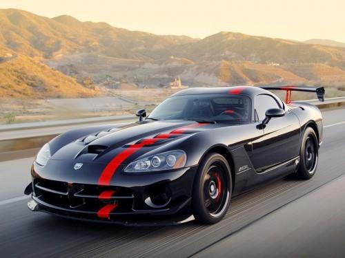В 2012 году появится новое поколение Dodge Viper