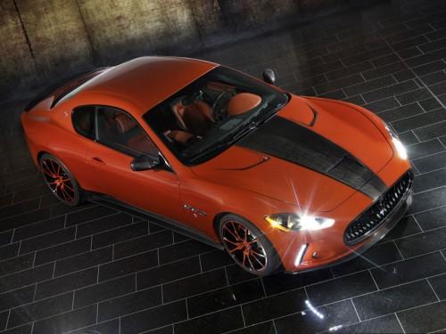 Mansory показал свою версию Maserati GranTurismo S