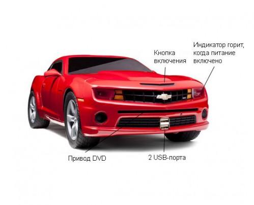 Chevrolet открыл продажу на персональный компьютер в виде купе Camaro