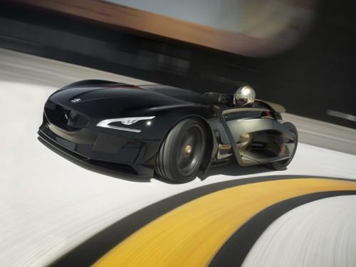 Фирма Peugeot покажет концепт-кар EX1 мощностью 340 л.с