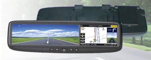 Ford снабжает зеркала заднего вида своих автомобилей навигаторами