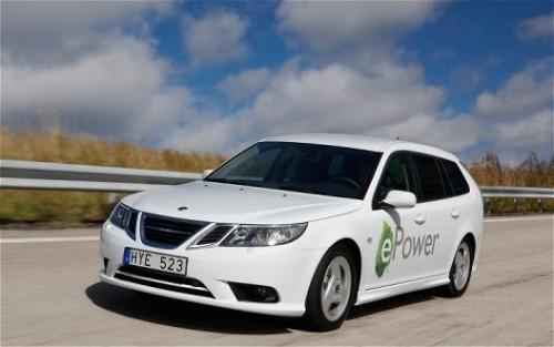 SAAB покажет парижанам свой первый электромобиль
