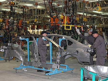 Россия удвоила производство автомобилей