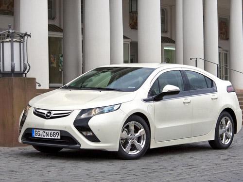 Стала известной стоимость электромобиля Opel Ampera