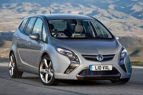 Фотошпионы выложили фотографии нового Opel Zafira