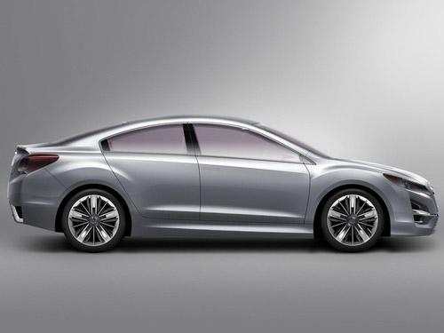 Subaru представила новый концепт Impreza