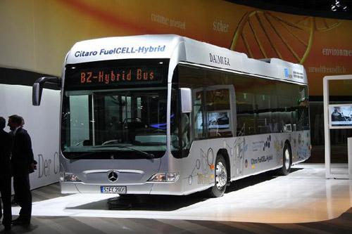 Лондон переходит на экологичные водородные автобусы