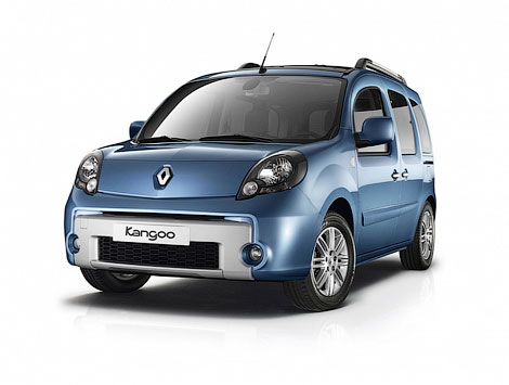 Компания Renault официально представила обновленный фургончик Kangoo