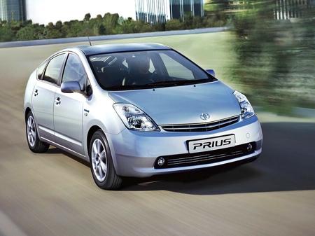 Самой продаваемой моделью в Японии в прошлом году была Toyota Prius
