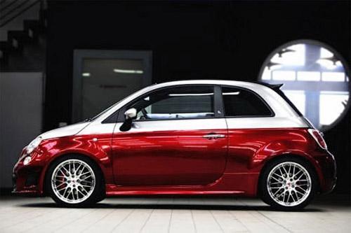 У «заряженного» маленького кабриолета Fiat 500C Abarth теперь 203 л. с
