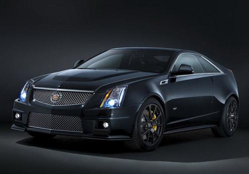 Cadillac CTS-V заметно «почернел»