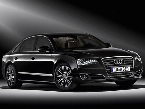 Официально представлена бронированная модификация седана Audi А8