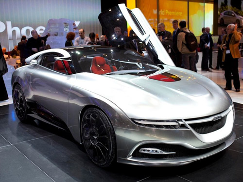 Saab показал «аэромоциональный» концепт-кар