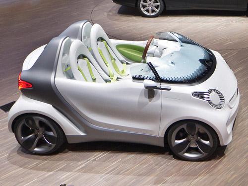 В Женеве состоялся дебют электрического концепта Smart Forspeed