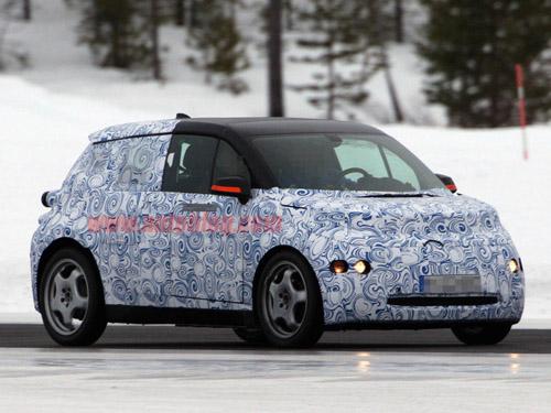 Появились первые фотографии нового BMW i3