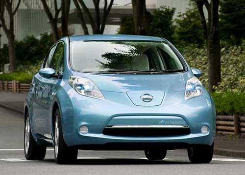 Лучшим автомобилем в мире признан Nissan Leaf