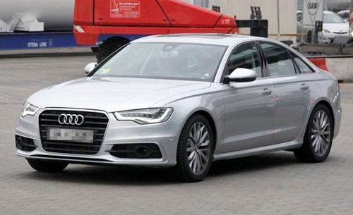 Появились первые фото Audi S6