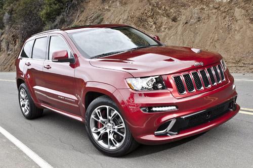 Chrysler представляет 465-сильный Jeep Grand Cherokee SRT8