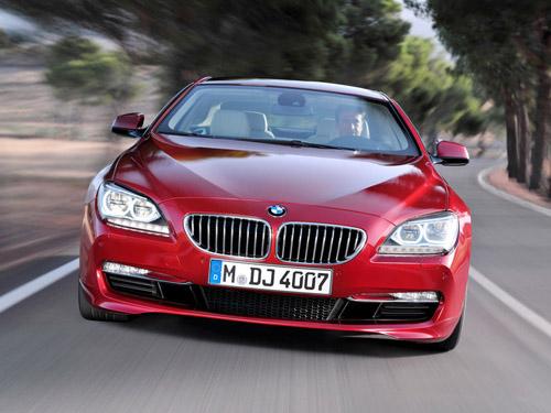 Названа цена нового купе BMW 6 series