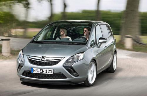 Opel выпустит третье поколение Zafira