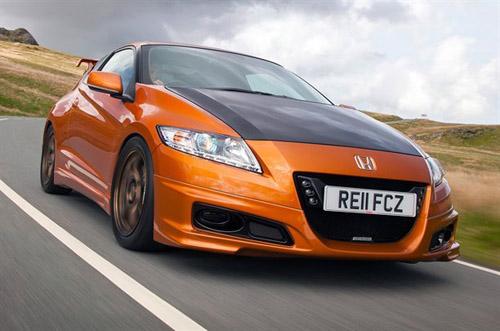 Honda обнародовала первые официальные фото гибрида CR-Z