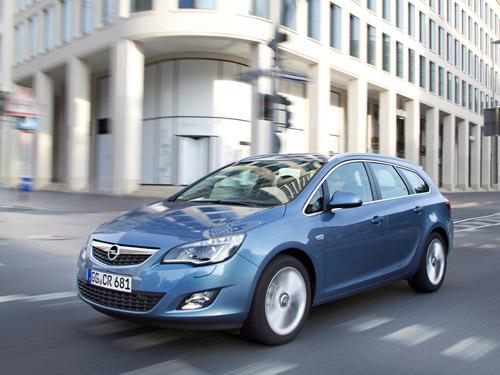Opel определился с российскими ценами на универсал Astra Sports Tourer