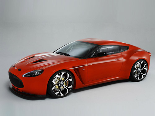 Aston Martin и ателье Zagato представили новый суперкар V12 Zagato