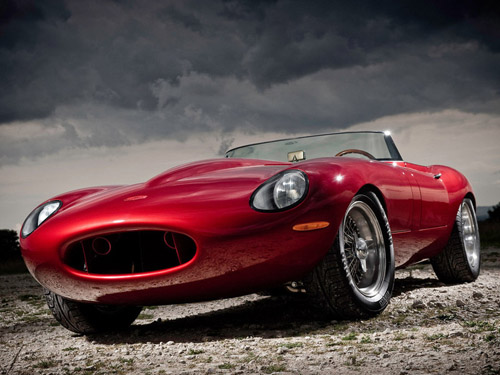Выпущена облегченная версия Jaguar E-Type