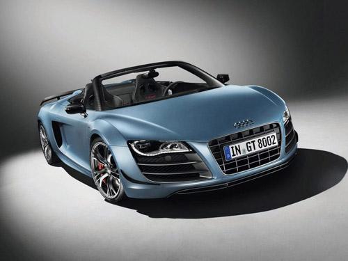 Официально представлен Audi R8 GT Spyder