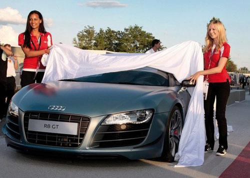 Официально представлен легкий родстер Audi R8 GT Spyder