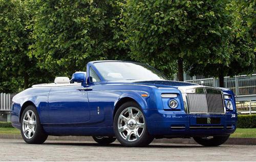 Британские ювелиры создали уникальный кабриолет Rolls-Royce
