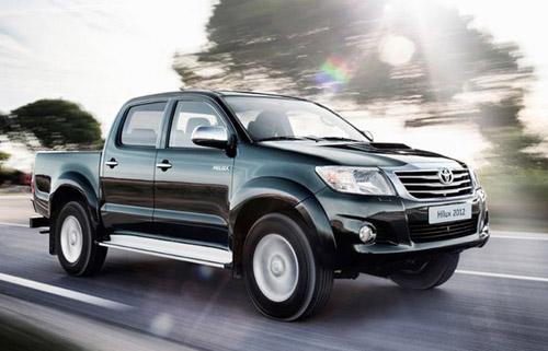Toyota представила рестайлинговую версию пикапа Hilux