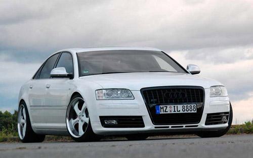 Audi тестирует «заряженную» S8