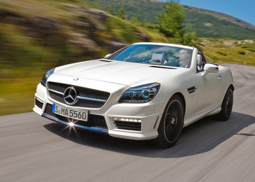 Mercedes-Benz показал родстер SLK 55 AMG