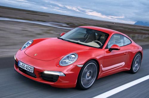 Рассекречен новый Porsche 911 Carrera