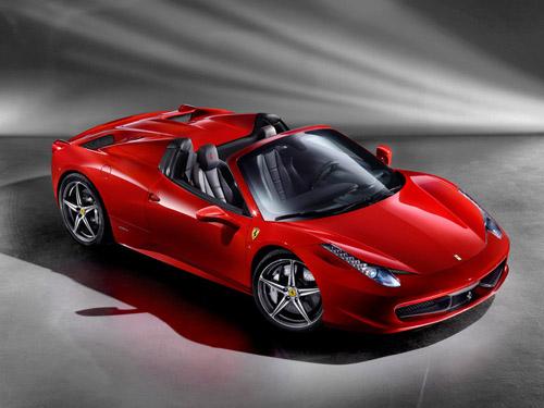 Официально представлена новая модель Ferrari 458 Italia Spider