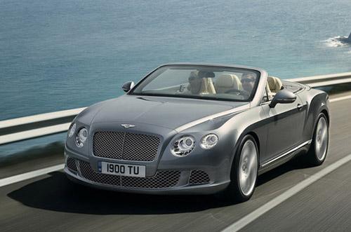 Представлен обновленый кабриолет Bentley Continental GTC