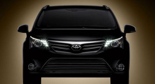 Toyota обнародовала первое изображение новой Avensis