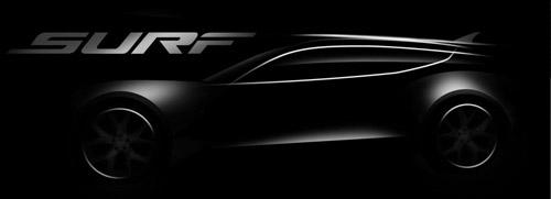 Во Франкфурте будет представлен электрический кроссовер Fisker Surf