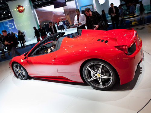 Объявлена цена новой Ferrari 458 Spider