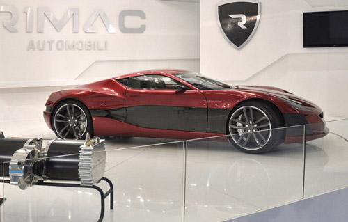 Rimac Automobili представила во Франкфурте самый мощный электрокар