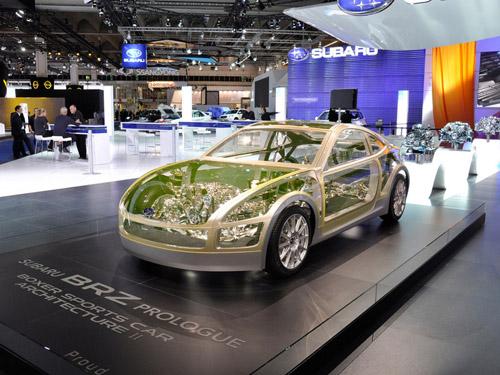 На Лос-Анджелесской выставке Subaru представит концепт BRZ