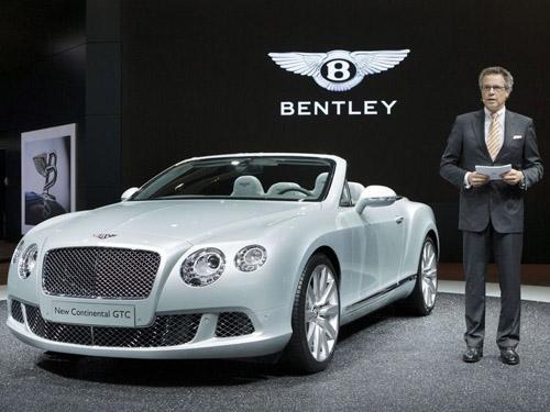 Bentley разрабатывает самый мощный Continental