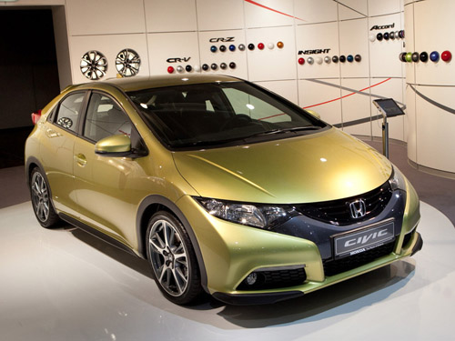 Стали известны цены на Honda Civic нового поколения